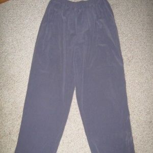 Dusty Purple Elastic Waist 2 Pocket Pants 16